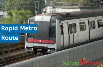 Rapid Metro Route