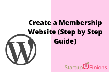 How to Create a Membership Website (Step by Step Guide)