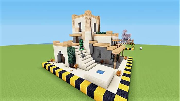 desert house minecraft