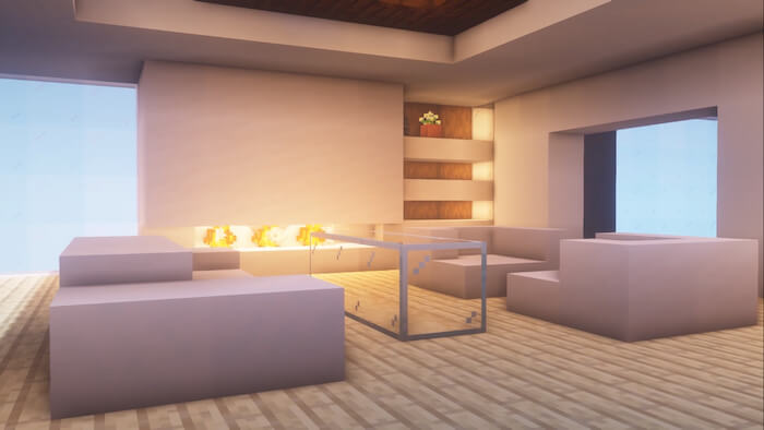 Minecraft Living Room Ideas