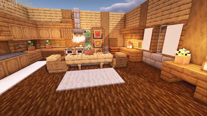 wooden kitchen 1