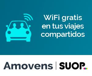 WiFi gratis en los viajes en coche compartido