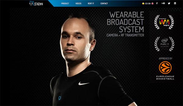 FirstV1sion – Deportistas con cámara de video incluida en su camiseta