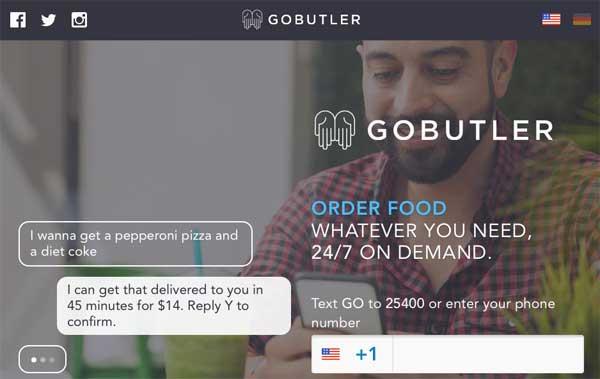 gobutlernow.com – Ashton Kutcher invierte en el servicio de conserjería por SMS