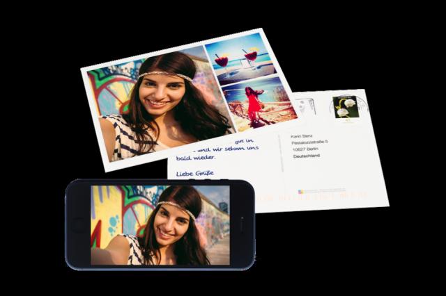 MyPostcard – App para crear postales reales de tus fotos de vacaciones