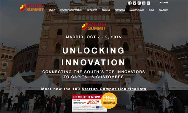 ELEGIDAS LAS 100 STARTUPS FINALISTAS  PARA SOUTH SUMMIT 2015