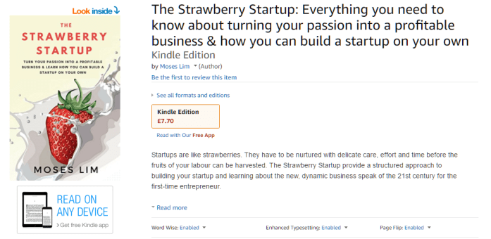 New ebook release: The Strawberry Startup