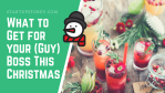 7 Presents to Buy for Your Boss (Guy) this Christmas 2019