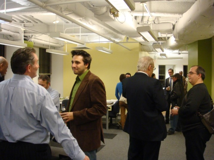 The main room of the hive at 55