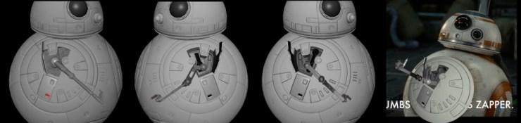 """Het """"Thumb's Up effect van BB-8"""