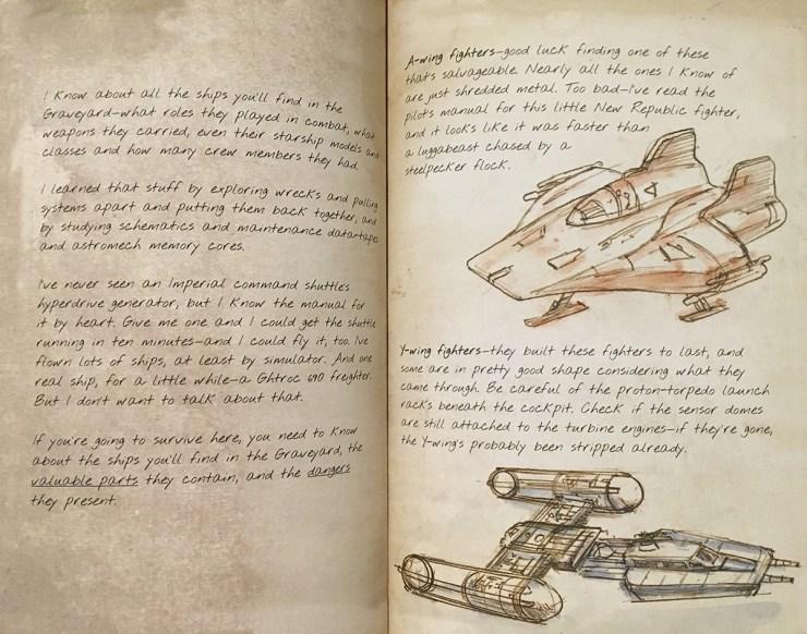Pagina's uit Rey's Survival Guide