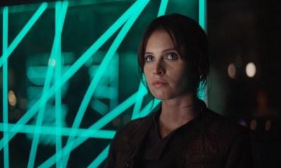 """Jyn blijkt een ietwat crimineel type te zijn. Ze leeft al sinds haar 15e op zichzelf en doet het nodige dat volgens de regels niet mag. Haar reactie wanneer er een aantal van haar activiteiten genoemd worden? """"This is a Rebellion isn't it? I rebel."""""""