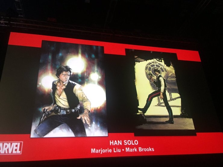 Han Solo covers