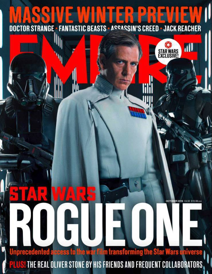 Rogue One foto's: Krennic cover