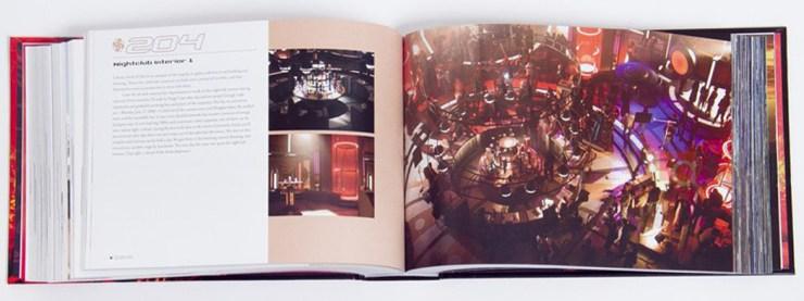 De set van de nachtclub in Attack of the Clones waar Zam Wesell aan Obi-Wan en Anakin probeert te ontsnappen.