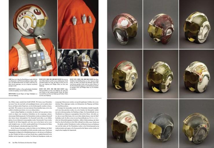 Bij de verschillende pilotenkostuums krijgen we ook een grote verzameling helmen te zien.