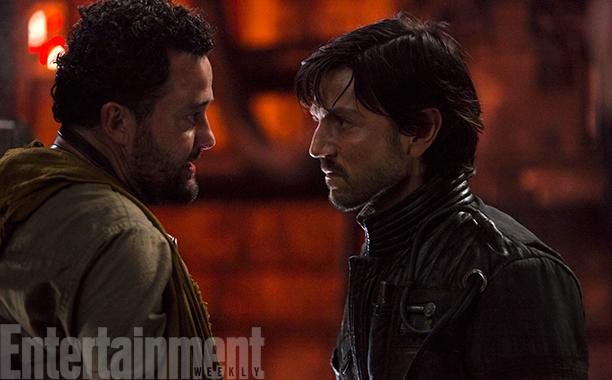 Naast Cassian zien we nog een nieuw personage: Tivik (Daniel Mays) is de tussenpersoon tussen Cassian en Saw Gerrera's partisanen.