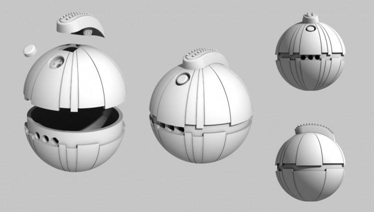 Thermal Detonator 3D Model