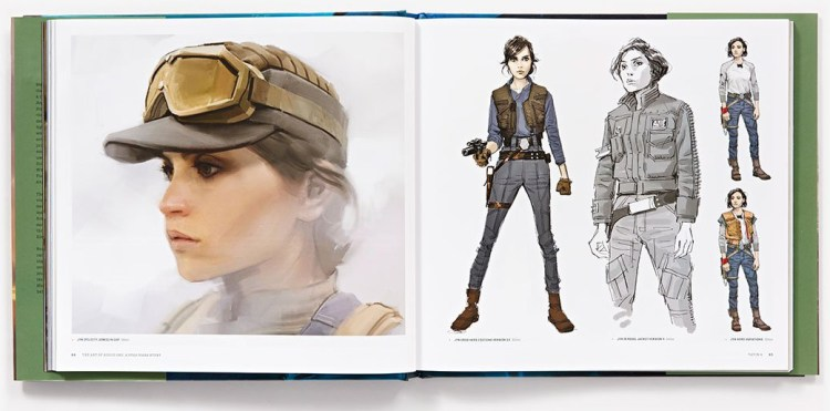 The Art of Rogue One - Jyn Paginas