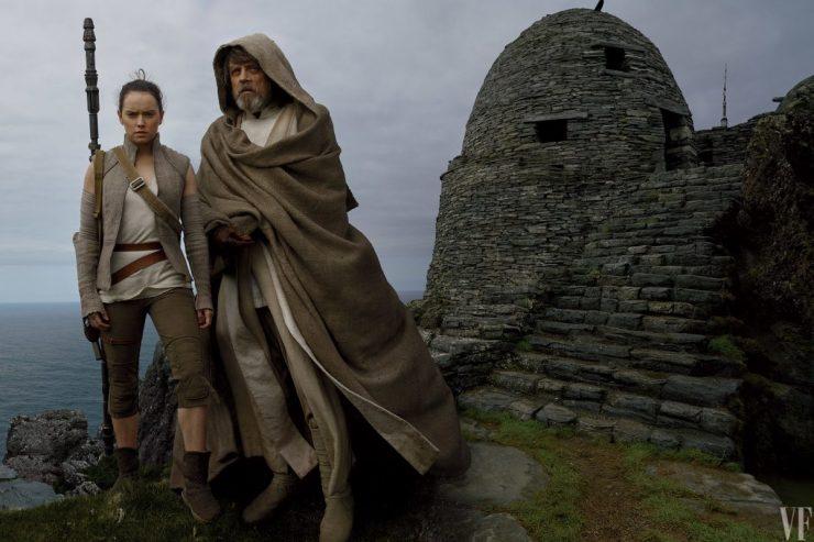 Rey en Luke op Ach'To