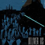 """Deliver us from Jedi Evil"" door: Moshenu Phobi"