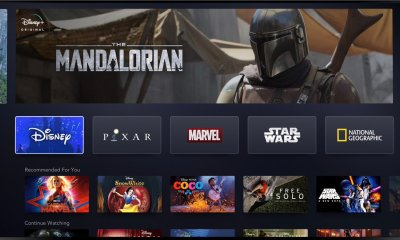 De Disney+ Interface