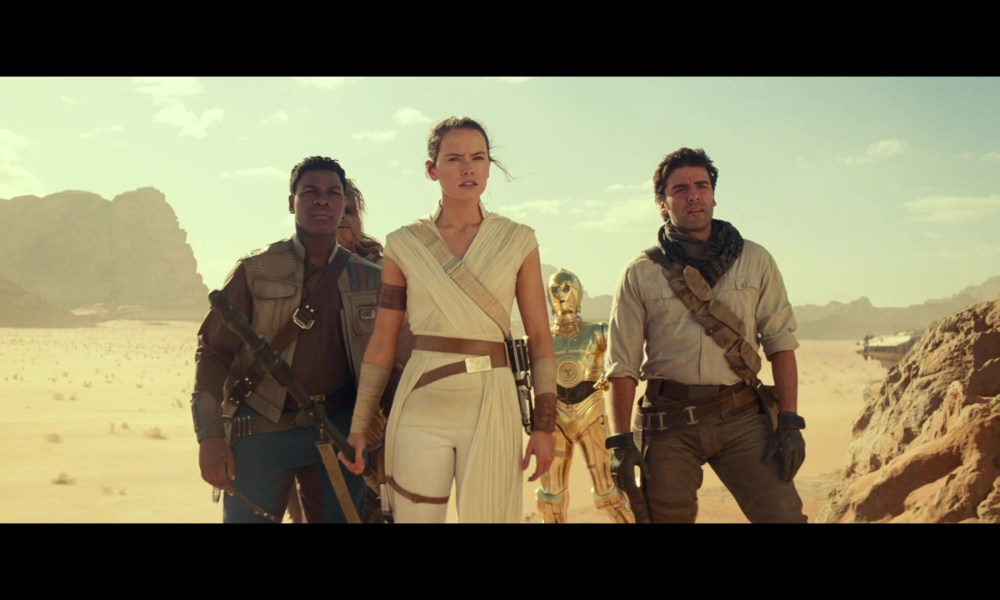 Rise of Skywalker sizzle reel