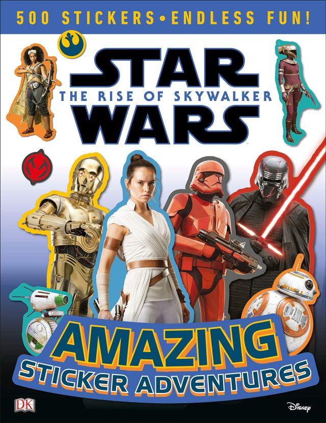 91MQ5DTqffL 790x1024 Out Today: Star Wars: The Rise of Skywalker: Amazing Sticker Adventure