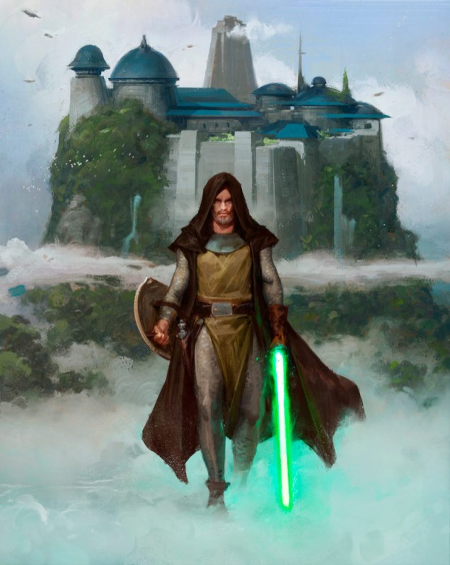 Grant Griffin on His Stunning Paintings from Star Wars: Myths & Fables   StarWars.com