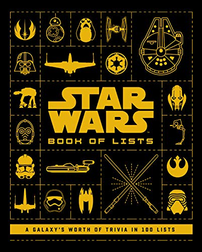 51CRlwcPSEL Out Today: Star Wars: Book of Lists: 100 Lists Compiling a Galaxy's Worth of Trivia