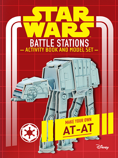 Star Wars: Battle Stations Activity Book and Model   Insight Editions