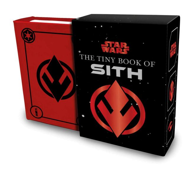 61SXsdzqdRL 1024x921 Out Today: Star Wars: The Tiny Book of Sith: Knowledge from the Dark Side of the Force