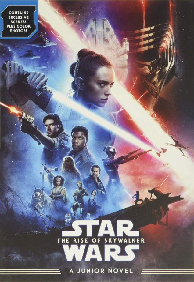 The Rise of Skywalker wins the 2021 Scribe Award for best Young Adult novel!