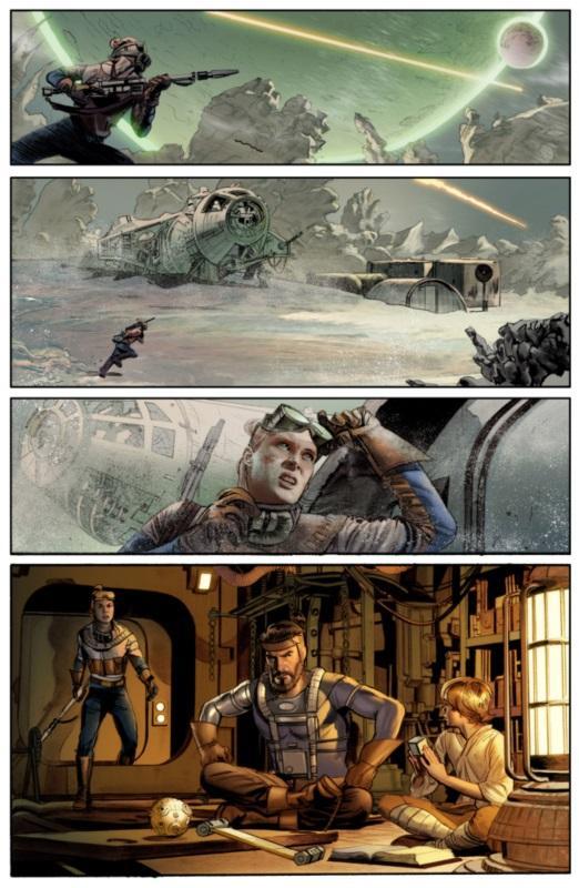 Primera página del nuevo comic presentada por Dark Horse