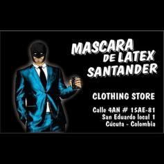 Mascara de latex Santander