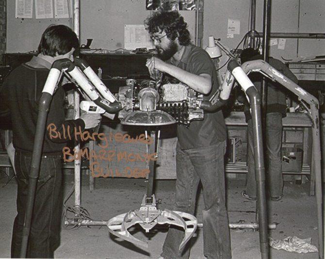 Autografo Bill Hargreaves - Constructor de props