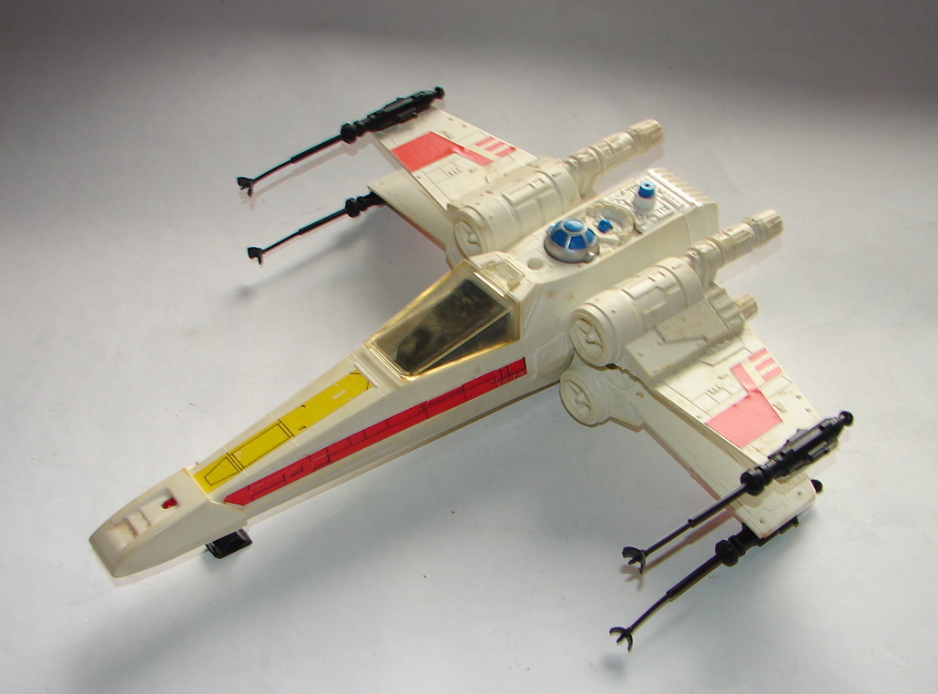 Star Wars Toy Ships : Kenner star wars wing fighter some variations to look