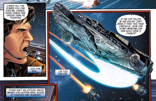Han Solo #2 - Fighting and Running