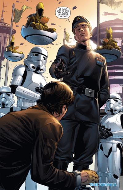 Han Solo #2 - Officer Arrives