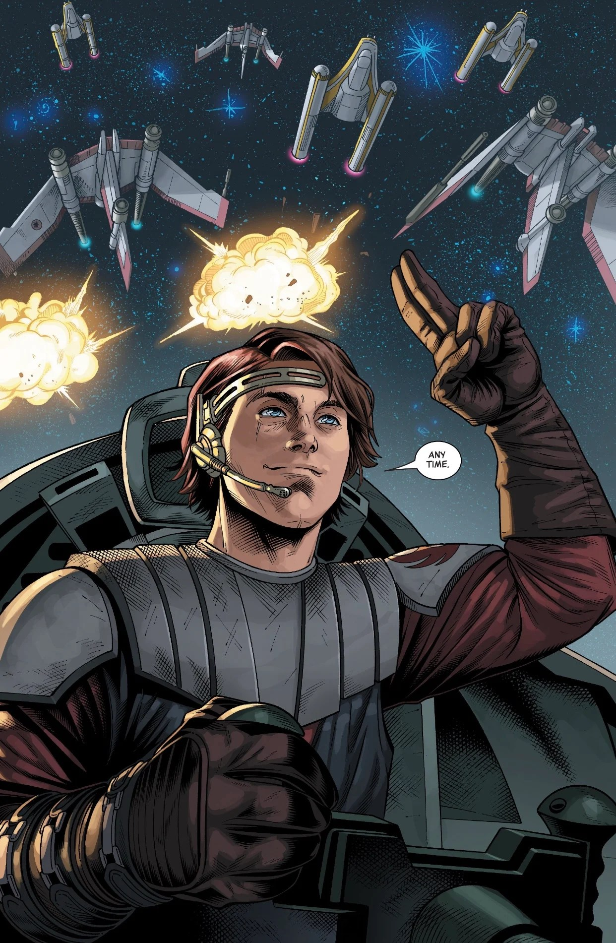 Review  Anakin Skywalker Chooses Life In Marvels Age of the Republic  Star Wars News Net