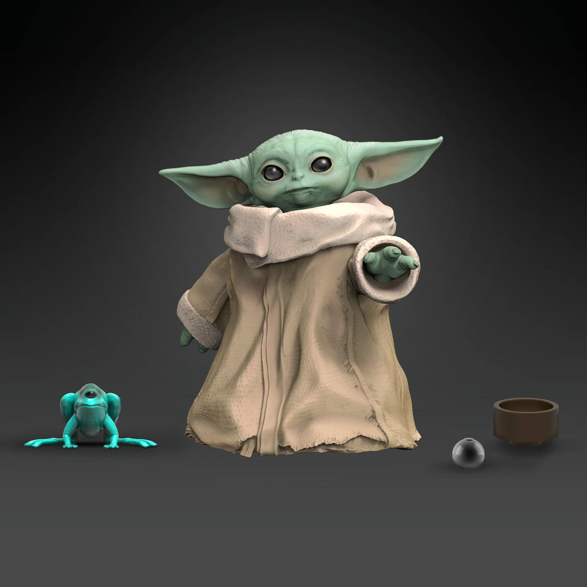 Hasbro Announces Spring Release For Baby Yoda Merchandise