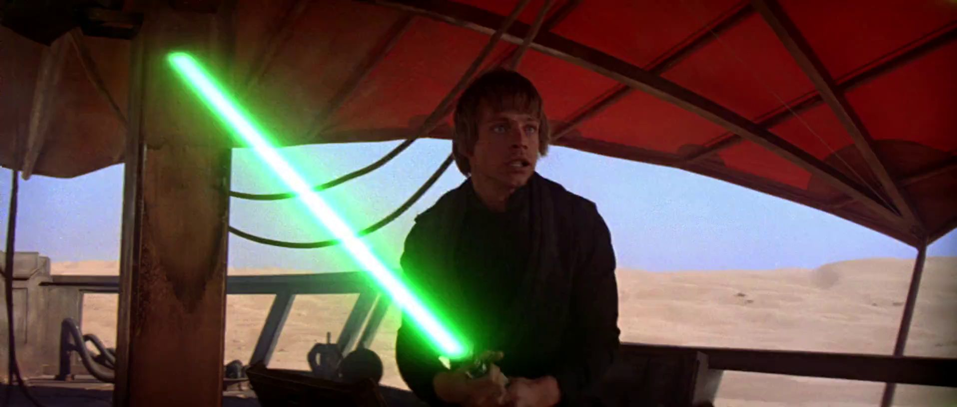 Blue And Green Lightsabers Anakin Padme Leia Luke Skywalker