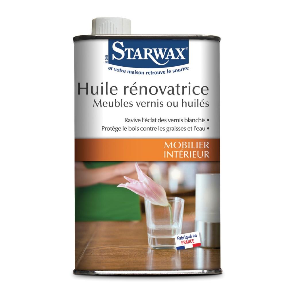 huile renovatrice pour meubles en bois vernis ou huiles