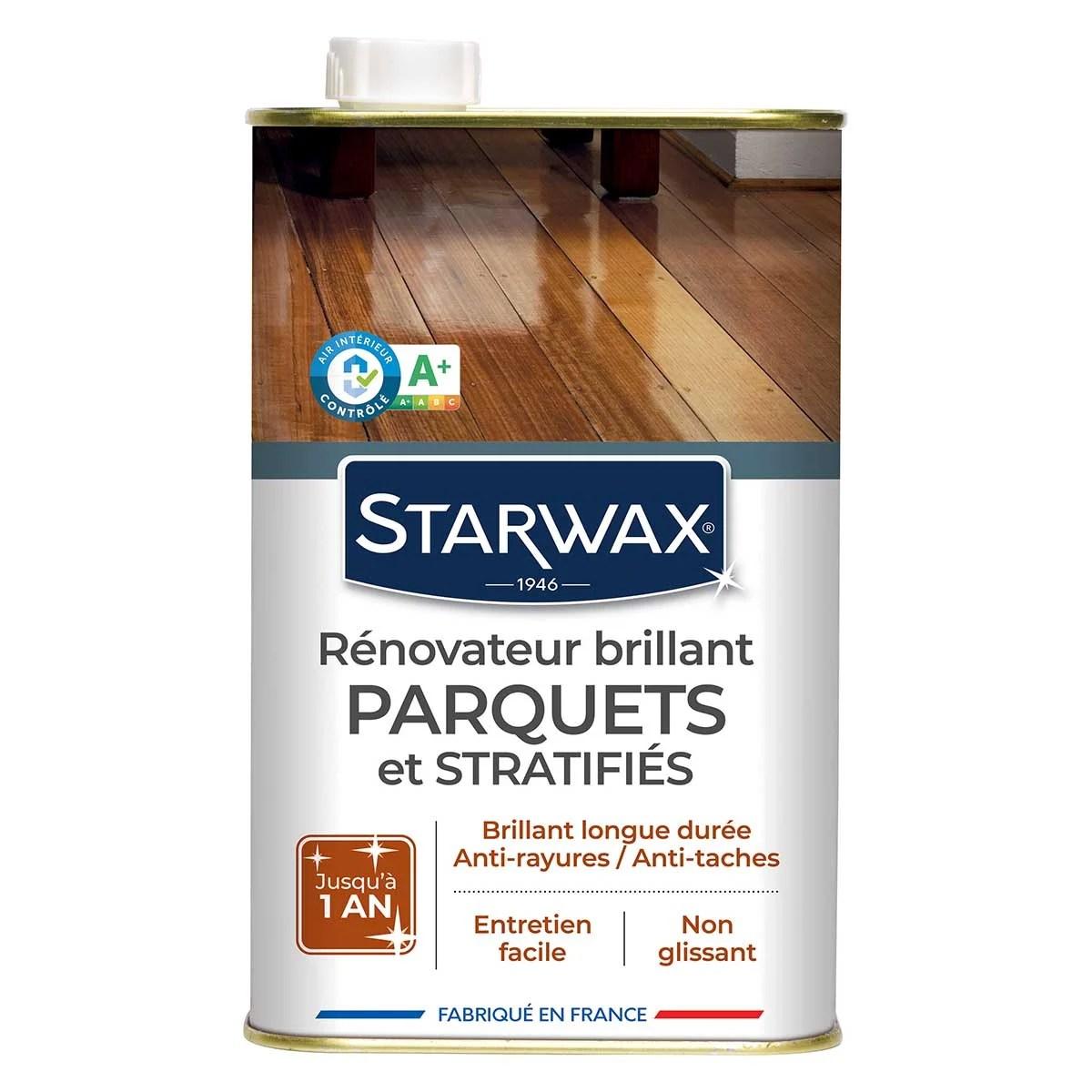 renovateur brillant protecteur pour parquets et sols stratifies