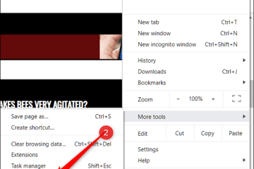 Click the three dots, point to More Tools, and then click Developer Tools.