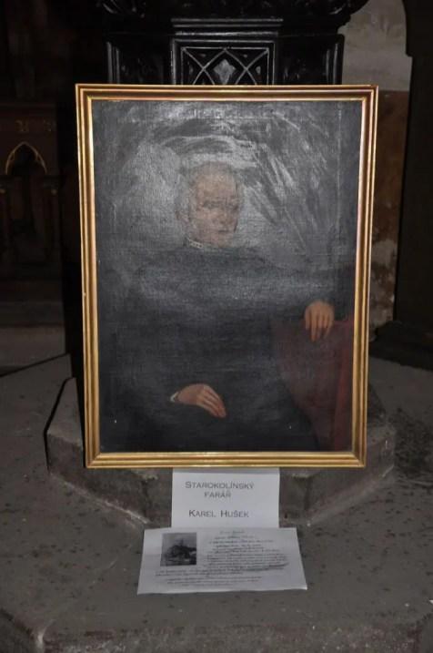 farář Karel Hušek