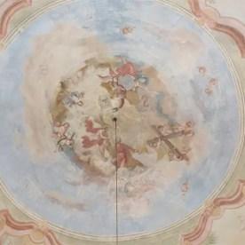 Malba na kupoli křížení lodí