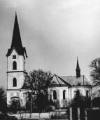 Kostel od jihu