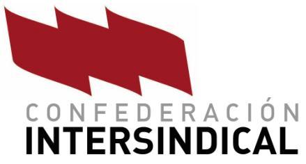 Resultado de imagen para confederacion intersindical