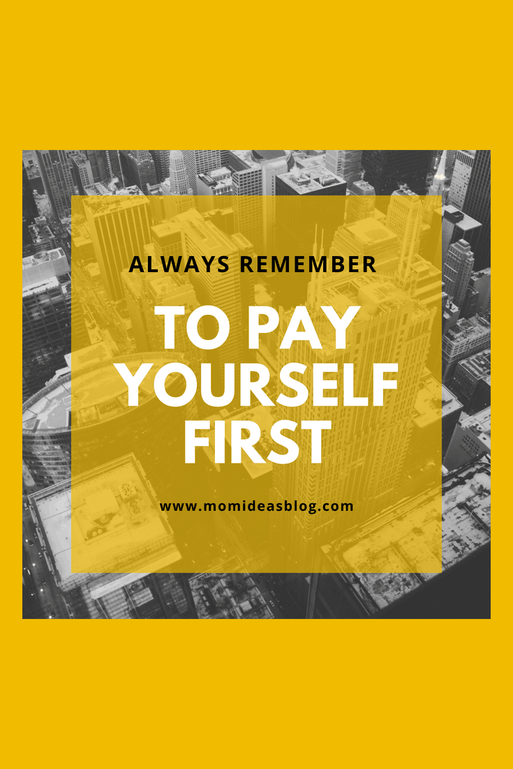 Save before you pay any bills.